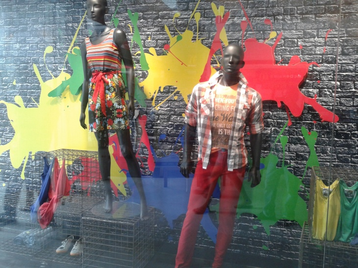 fashion display window
